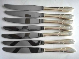"vintage COMMUNITY PLATE SILVERPLATE flatware LADY HAMILTON 8 KNIVES 9.5"" - $64.95"