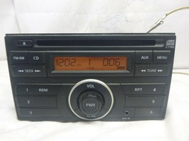 11 12 Nissan Versa Factory Radio Single Disc Cd OEM 28185-3AN0A CY19G LST06 - $38.61