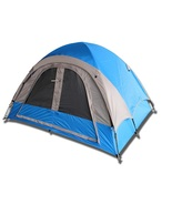 3-Person Blue/Gray or Red/Gray Camping Tent - $104.95