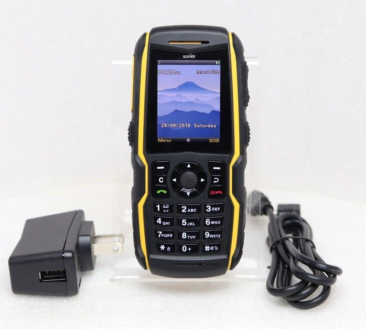 Sonim BOLT XP5520 (GSM UNLOCKED) Rugged Waterproof Cell Phone