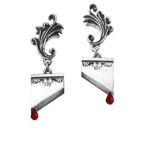 Alchemy of England Gothic Marie Antoinette Guillotine Death Punk Earring... - $38.95