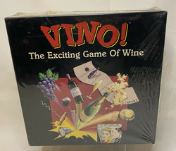 New Factory Sealed 1994 VINO! The Exciting Board Game of Wine New FLAWED... - $39.99