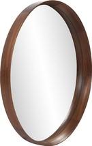 HOWARD ELLIOTT REAGAN Wall Mirror Round Reddish Brown Stain - $1,009.00