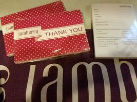 Lot of New Jamberry Consultant Business Supplies with Jamberry Table Runner image 3