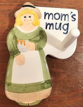 Moms Mug Holder Wall Hanging Towle Company Les Artisans Sigma Tastesette... - $53.03