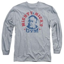 Rocky Classic Movie Mighty Micks Gym retro long sleeve graphic t-shirt MGM113 image 1