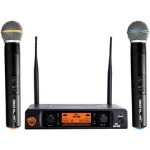 Nady DW-22-HT-ANY Dual-Transmitter Digital Wireless Microphone System (2... - $210.99