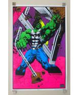 1996 Hulk 35 x 23 Marvel Comics blacklight poster 1: 1990's Marvelmania/... - $149.49