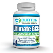 Ulimate GCB 60 count Green Coffee Bean Extract By Burton Nutrition - Chl... - $38.48