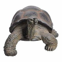"Realistic Lifelike Galapagos Giant Tortoise Statue 17.25"" Wide Marine Re... - £110.34 GBP"