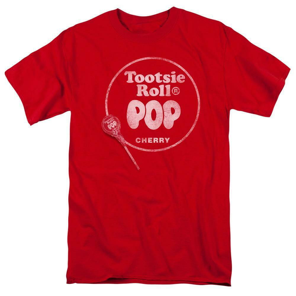 Tootsie Roll Blow Pop Cherry t-shirt retro 80s vintage candy graphic tee TR111