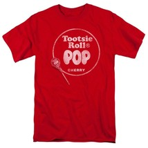 Tootsie Roll Blow Pop Cherry t-shirt retro 80s vintage candy graphic tee TR111 image 1