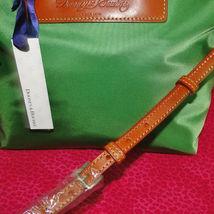 Dooney & Bourke Nylon Green Satchel Handbag NWT image 11