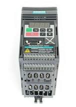 SIEMENS 6SE3211-5CA40 AC DRIVE MICROMASTRER 0.33 HP 230 VAC