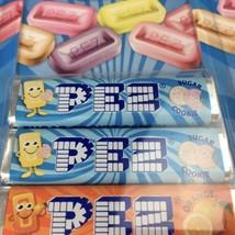 3 Packs of 8 PEZ Candy Packs (24) Refills Sugar Cookie, Lemon, Cherry, Orange - $14.52