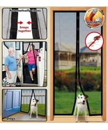 Instant Mesh Screen Door Magnetic Hands Free Bug Net Mosquito Fly Pet co... - $15.25
