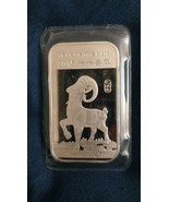 2015 1 Oz Silver Year Of the Ram - $42.00