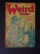 Weird Tales [January 1948] - Low Grade, Sturgeon Story - $20.00