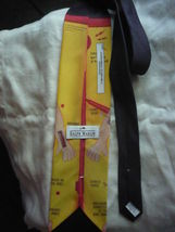 1996 Ralph Marlin Hasbro Operation game Neck Tie image 3