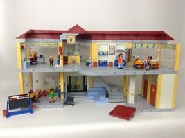 2009 Retired Playmobil 4324 Lg 775+ Pcs Furnished Elementary School 97% ... - $197.95