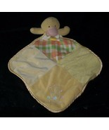 BABY ESSENTIALS YELLOW DUCK CUTE AS A BUTTON SECURITY BLANKET STUFFED PL... - $26.18
