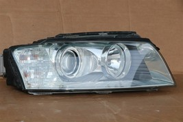 04-05 Audi A8 A8L HID Xenon AFS Adaptive Headlight Pssngr Right RH -POLISHED image 2