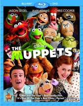 Disney The Muppets (Blu-ray/DVD)  - $2.95