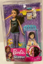 New Barbie Babysitters Playset  Skipper Doll and toddler bedtime - $37.49