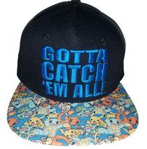 Pokemon Gotta Catch 'Em All / Starter Pokemon New Embroidered Cap * Nint... - $11.88