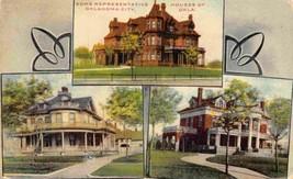 Houses of Oklahoma City OK 1910c postcard - $6.93