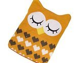 1L Hot Water Bottle Classic Premium Hot Rubber Bag with Soft Cover, Owl, A5