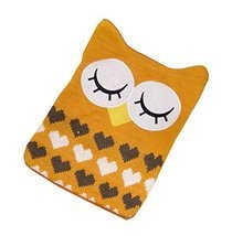 1L Hot Water Bottle Classic Premium Hot Rubber Bag with Soft Cover, Owl, A5 - $19.12