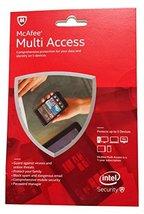 McAfee 2015 Multi Access 1 User 5 Devices MMD15E - $19.99
