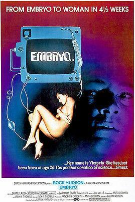 Primary image for Embryo - 1976 - Movie Poster