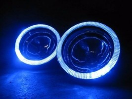 Blue Halo Fog Lamps Driving Lights foglamps angel eye for 2004-2010 Niss... - $99.77