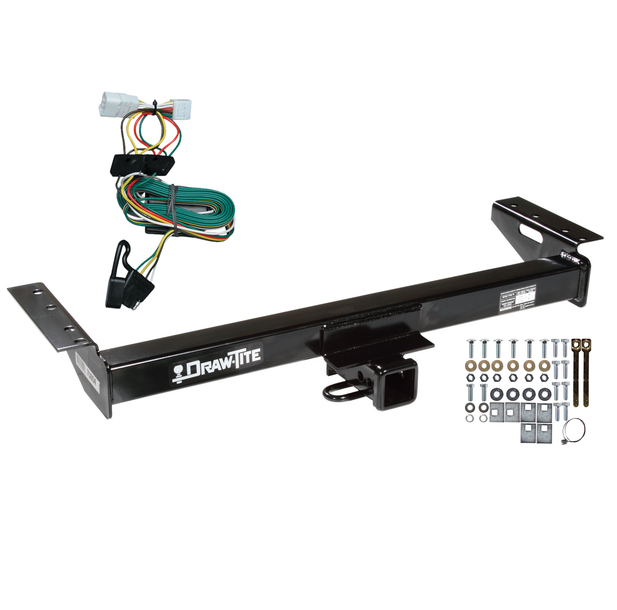 trailer tow hitch for 97 01 jeep cherokee w wiring. Black Bedroom Furniture Sets. Home Design Ideas