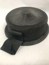 Vintage Frank R Jelleff inklusive 1930er Jahre Damen Schwarzen Hut - $29.91