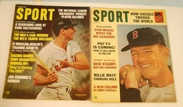 2 June Sport Magazines 1964 & 1968 Carl Yastrzemski & Dick Stuart Cover ... - $1.97