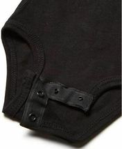 Marky G Apparel Baby Boys' Fine Jersey Bodysuit 2 pack Black/Chill Blue  image 4