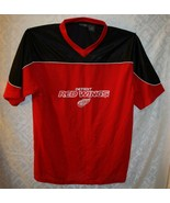 Detroit Red Wings Jersey Shirt Pro Edge L Large NHL Hockey - $38.52
