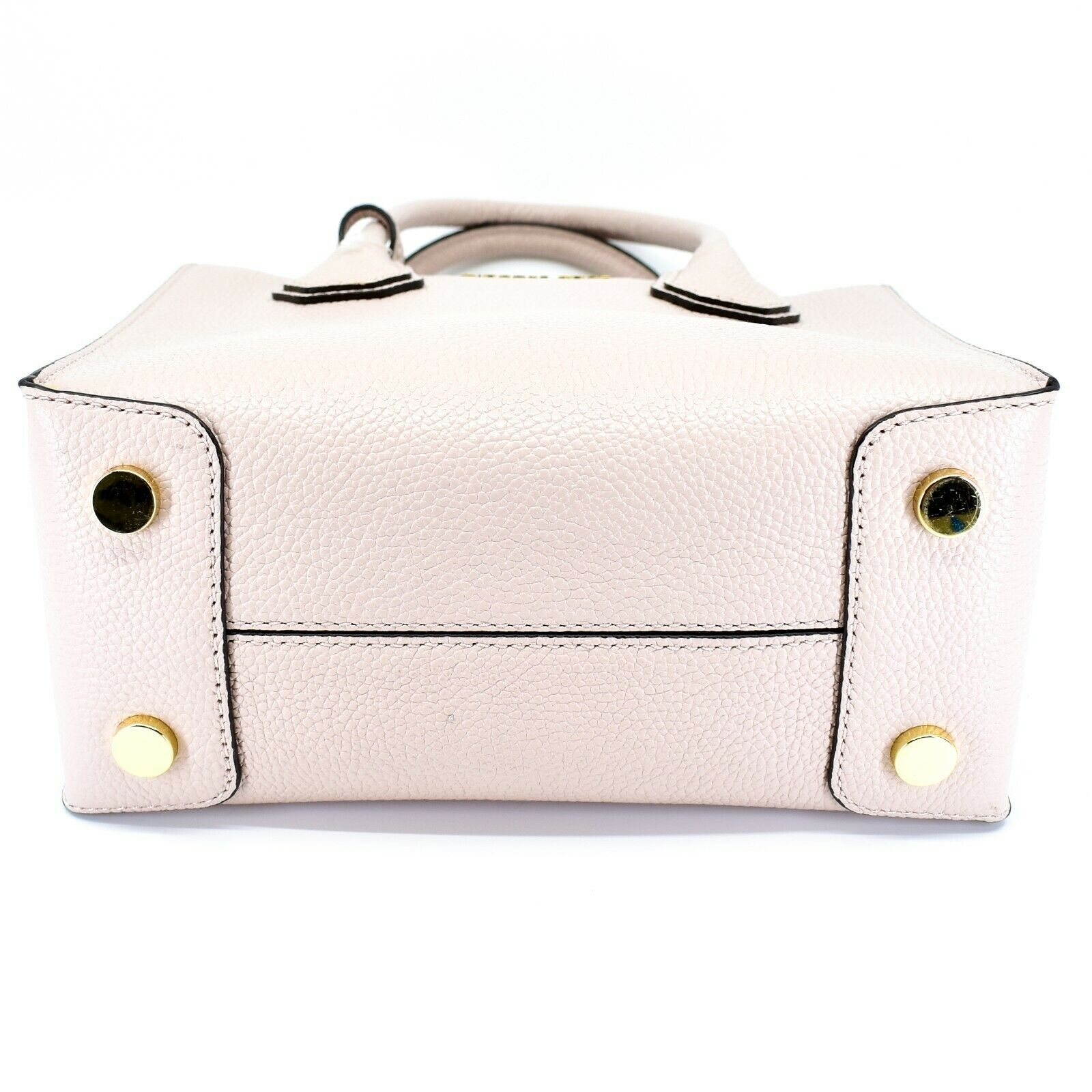 Michael Kors Mercer Soft Pink Pebbled Leather Medium Crossbody Messenger Bag image 5