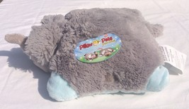 "Pee Wee Pillow Pets Small Nutty Elephant 11"" Plush Vey Soft - $12.16"