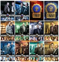 Brand New NYPD Blue - The Complete TV Series Seasons 1 Through 12 DVD Se... - $99.00