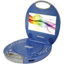 """SYLVANIA SDVD7046-BLUE 7"""" Portable DVD Player with Integrated Handle (Blue) - $77.70"""