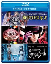 Beetlejuice/Charlie and the Chocolate Factory/Corpse Bride [Blu-ray]