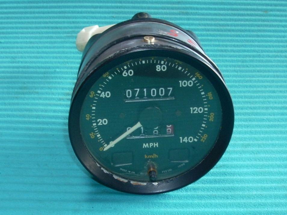 1982 JAGUAR XJ6 SPEEDOMETER ODOMETER GAUGE 71,007 MILES GENUINE OEM