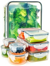 Air Tight Food Storage Containers Plastic Container Leak Proof Lunch Kit... - €20,70 EUR