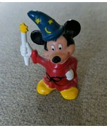 Mickey Mouse Collectible Figurines Magic Wand Magician Walt Disney Fanta... - $10.88