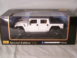 GM Hummer (Soft top) 1:18 scale diecast Special Edition Maisto - $49.59