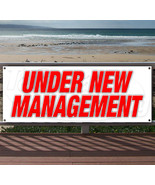 UNDER NEW MANAGEMENT Advertising Vinyl Banner Flag Sign Many Sizes Avail... - $17.77+
